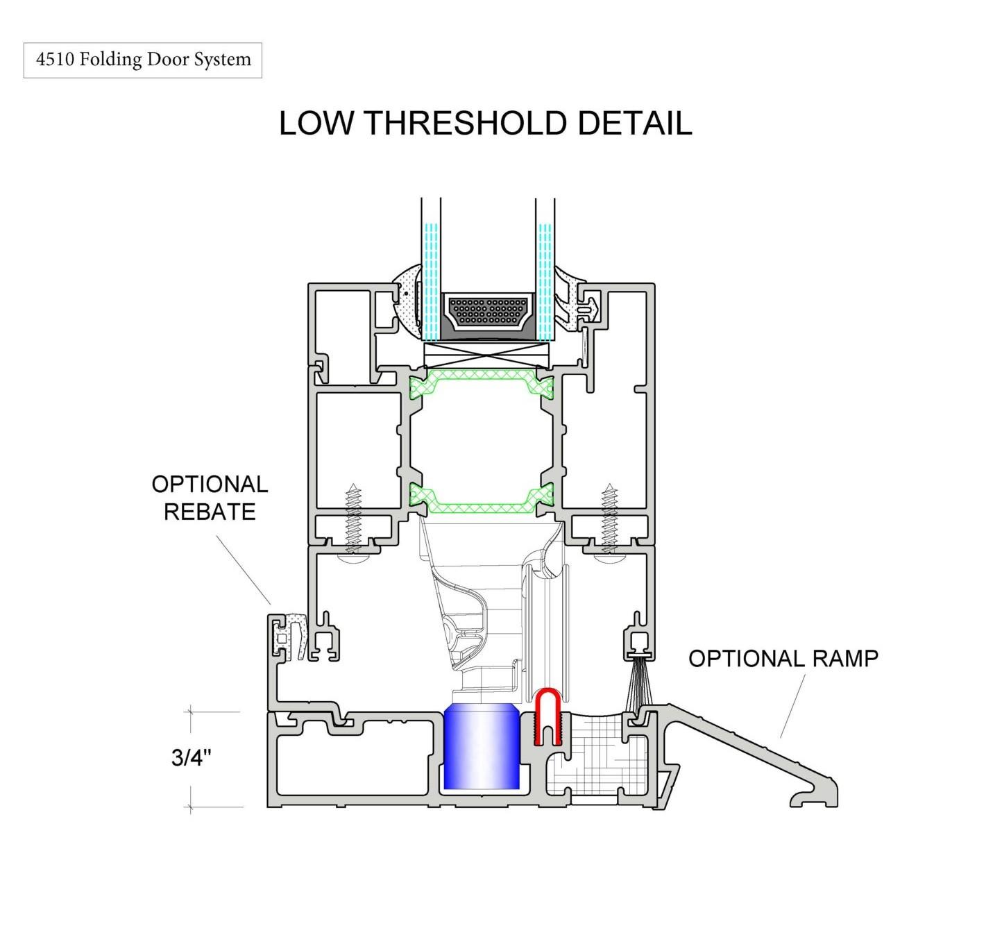 4510 Folding Door System