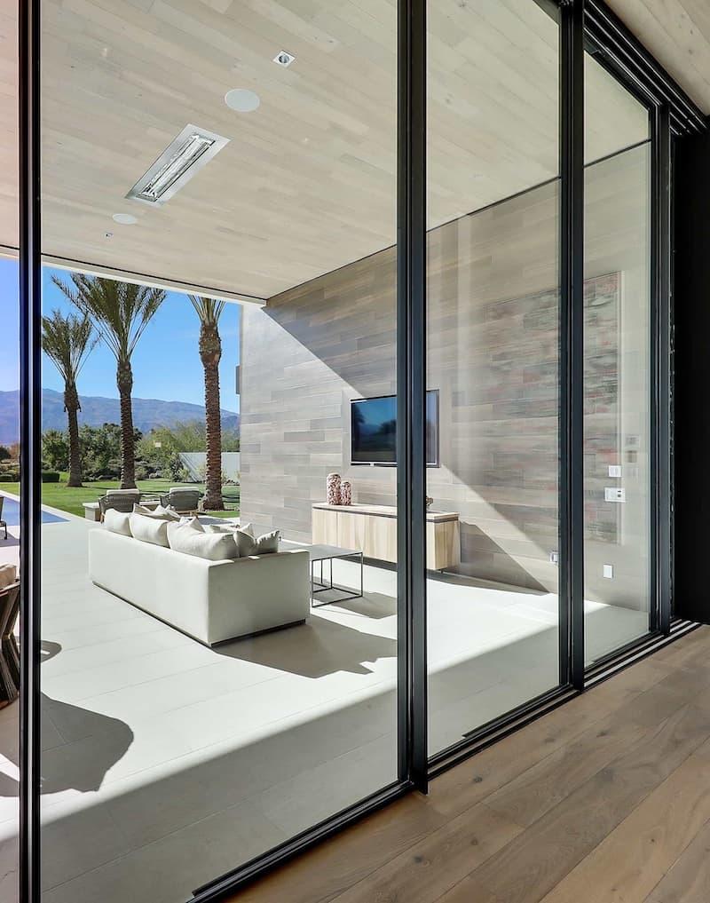 5000 series sublinear sliding glass door