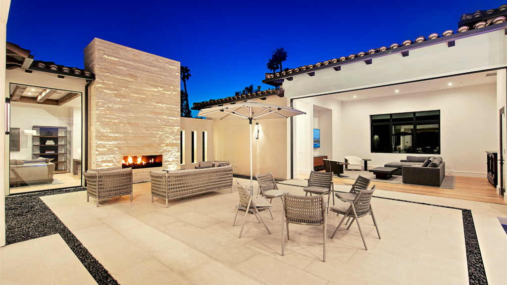 Merging Your Indoor and Outdoor Spaces at Rancho Santa Fe project by Jensen Door Systems (dealer) and Munsch Homes (builder)